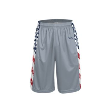 Men's USA Flag Glory INK Basketball Shorts