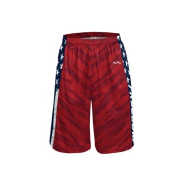 Men's USA Freedom INK Basketball Shorts
