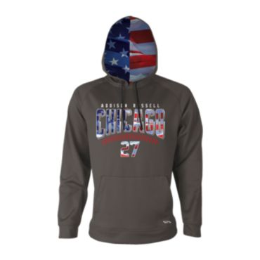 Men's Addison Russell USA Fleece Hoodie