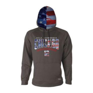 Men's Kyle Schwarber USA Fleece Hoodie