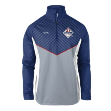 Men's INK Addison Russell MLBPA Quarter Zip Pullover