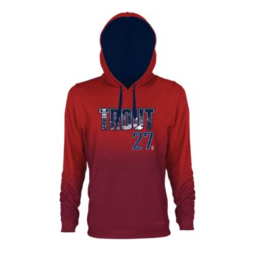 Men's INK Mike Trout Fleece Hoodie