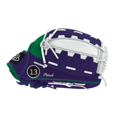 Custom Fielding Glove Striped B20 Web