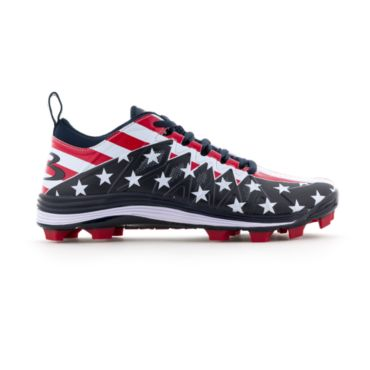 Men's Squadron USA Flag Molded Cleats 2.0