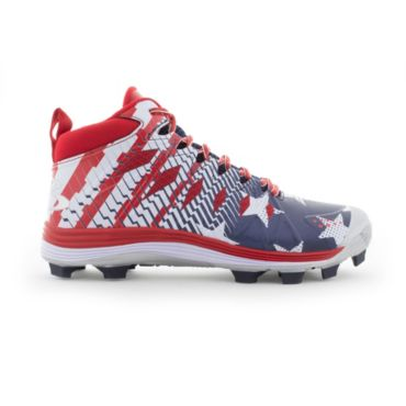Men's Squadron Flag Molded Mid Cleats