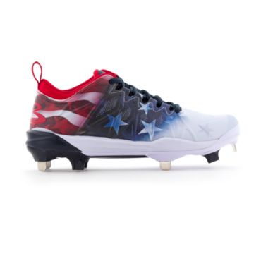 Women's Squadron USA Flag Metal Cleats