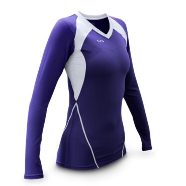 Women's Ace Fitted Volleyball Jersey Long Sleeve
