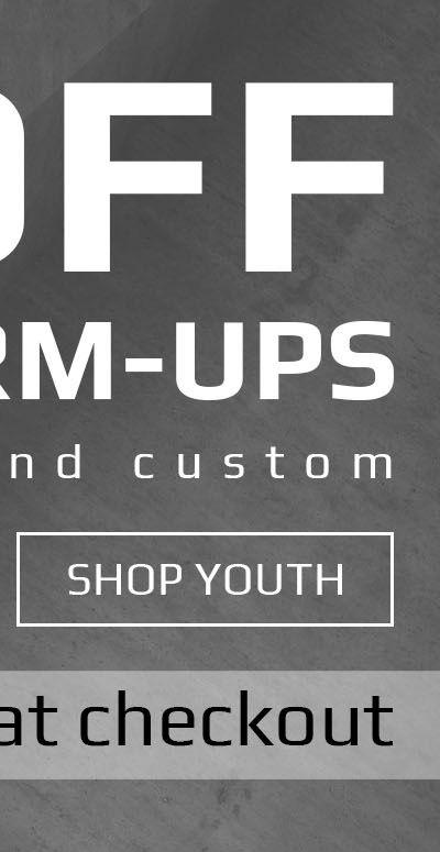 Boombah Youth Warmups