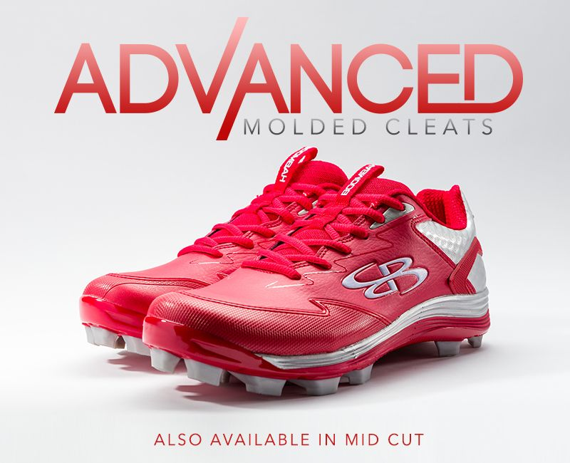 Boombah Advance Molded baseball Cleat