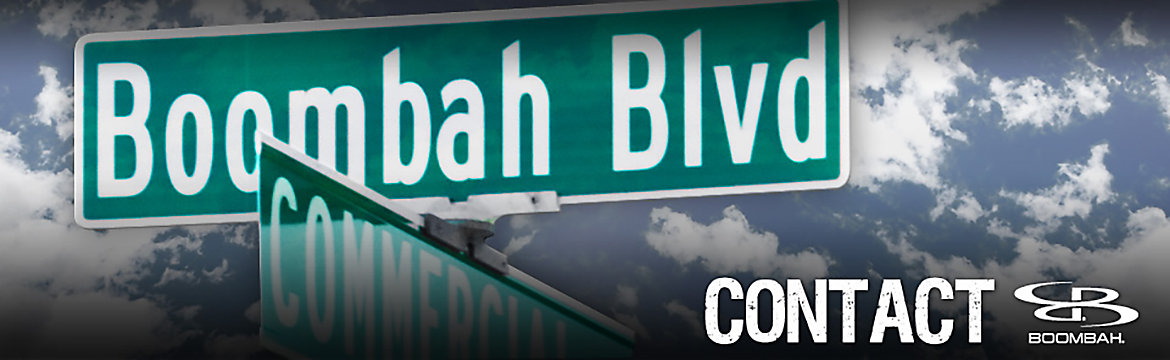 Boombah Street Sign Banner