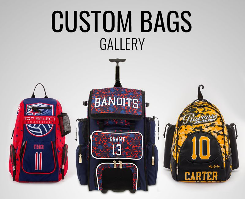 Boombah Custom Bag Gallery