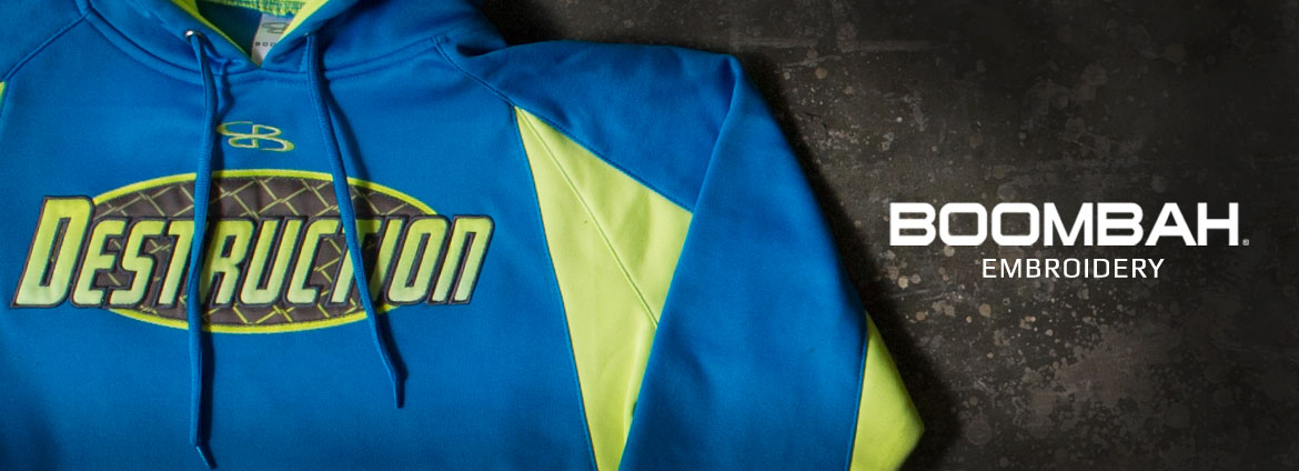Boombah Customization Banner