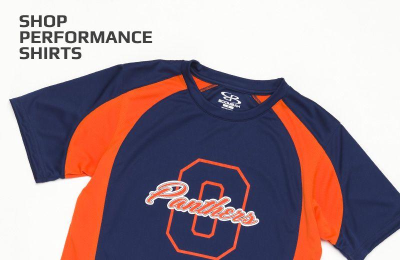 Boombah Custom Performance Shirts