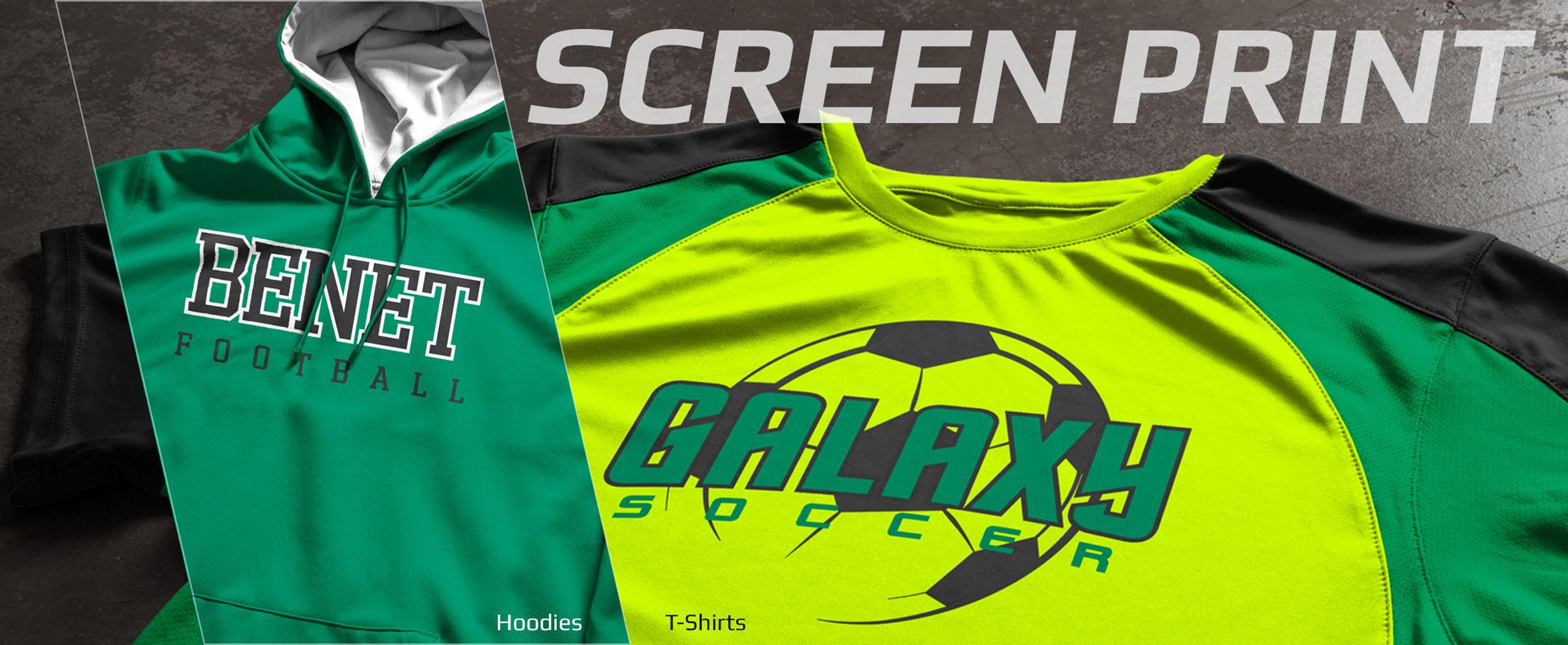 Boombah Custom Screen Print Spiritwear