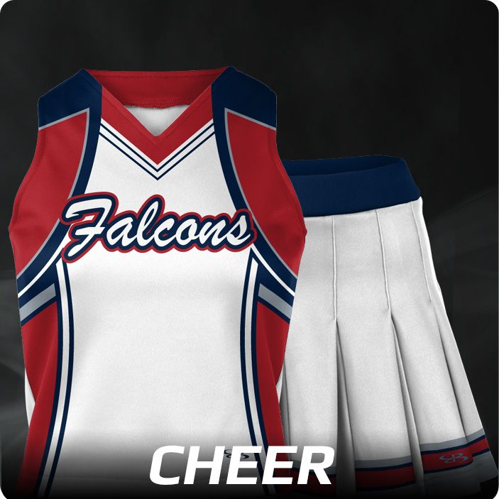 Boombah INK Custom Women's Cheer Uniforms