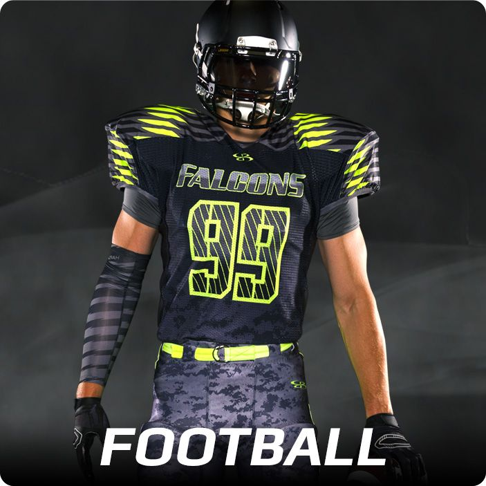 Boombah INK Custom Football Uniforms