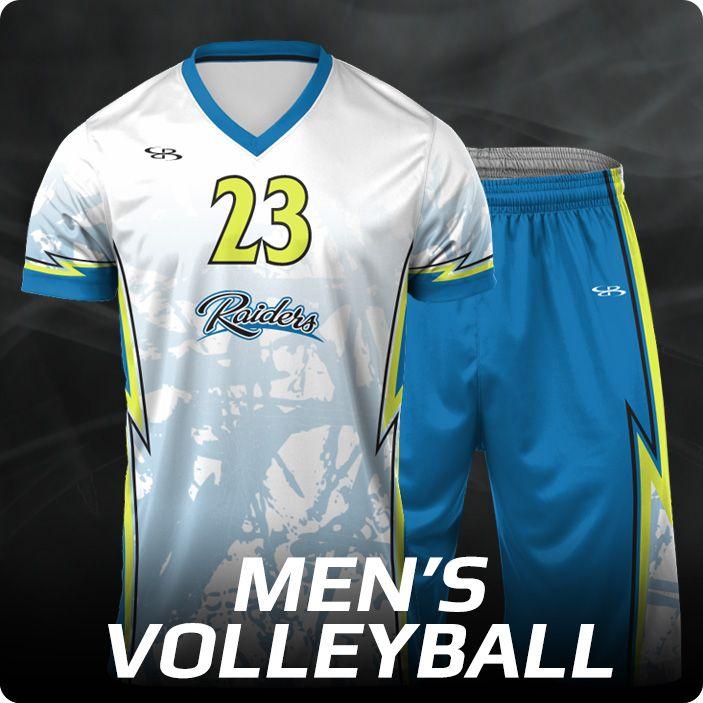 Boombah INK Custom Men's Volleyball Uniforms