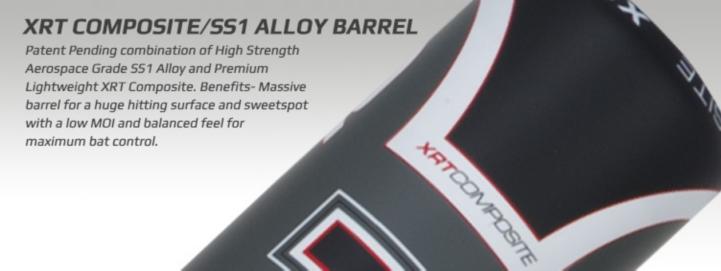 2014 Cannon XRT Composite/SS1 Alloy Barrel