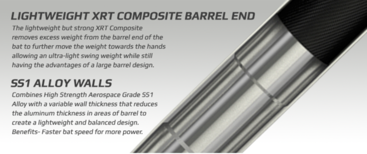 Lightweight XRT Composite Barrel End