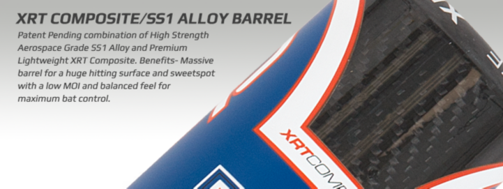 XRT Composite/SS1 Alloy Barrels