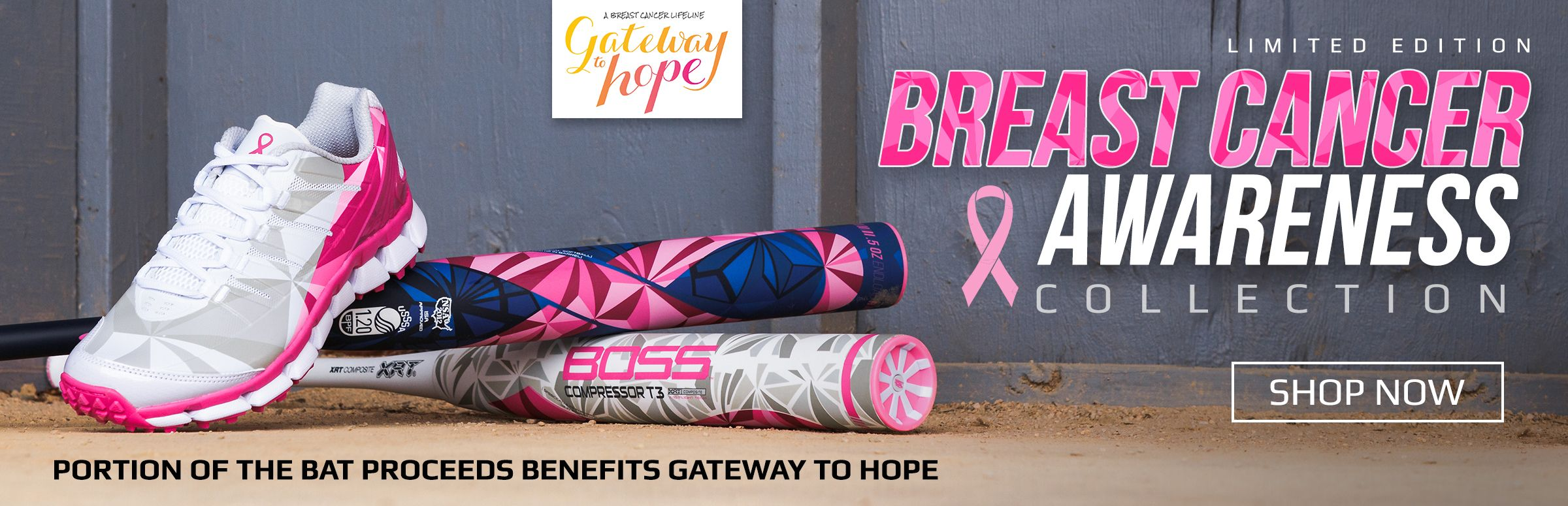 Boombah Special Edition BCA BOSS Slowpitch Bats and Turfs