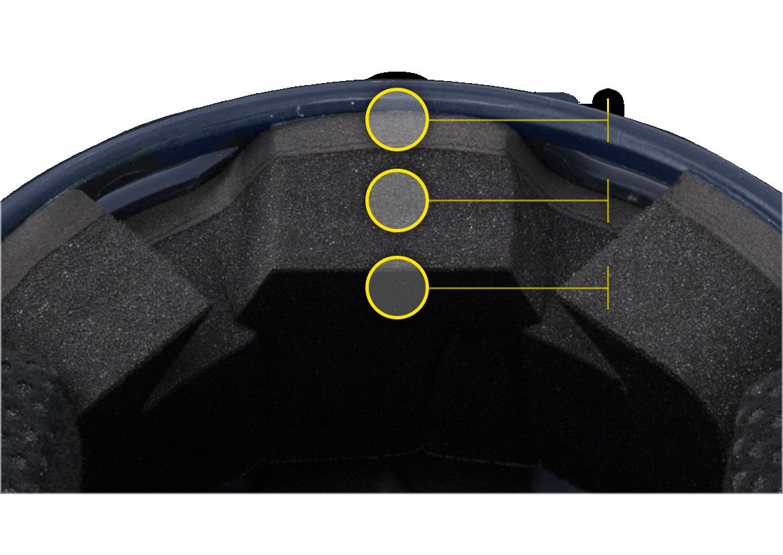 Boombah Defcon Batter's Helmet Interior