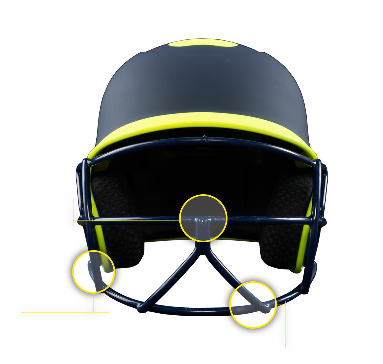 Boombah Defcon Batter's Helmet Mask