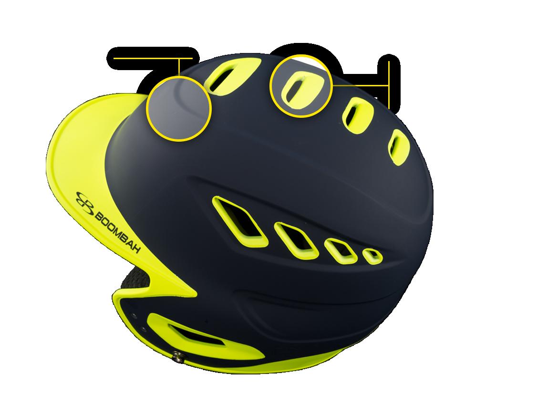 Boombah Defcon Batters's Helmet