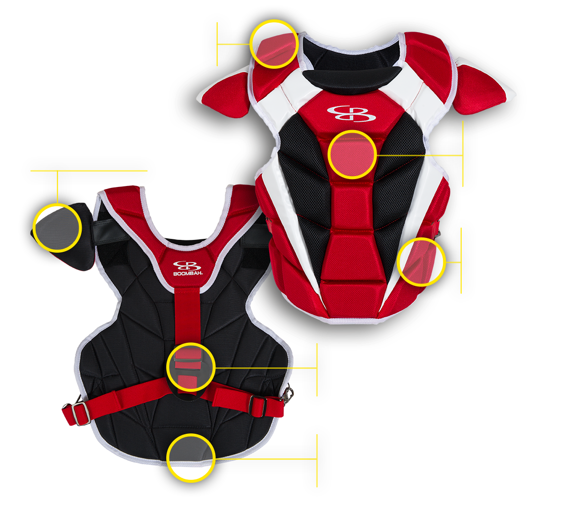 Boombah Defcon Chest Protector
