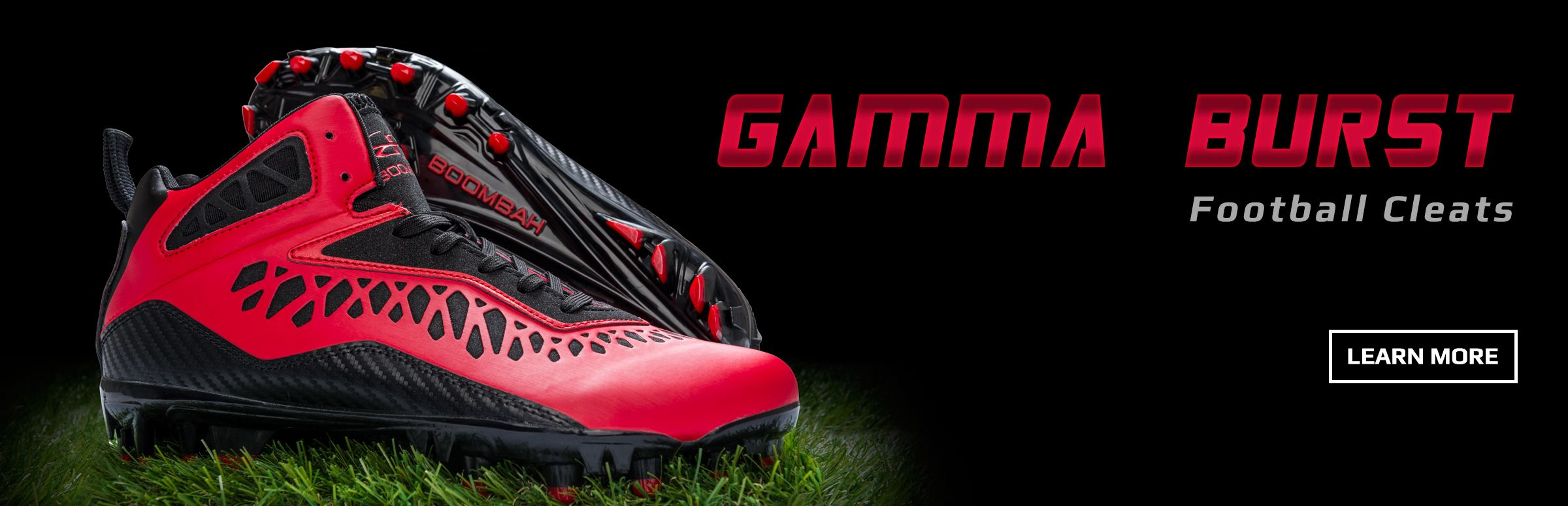 Boombah Gamma Burst Molded Football Cleats