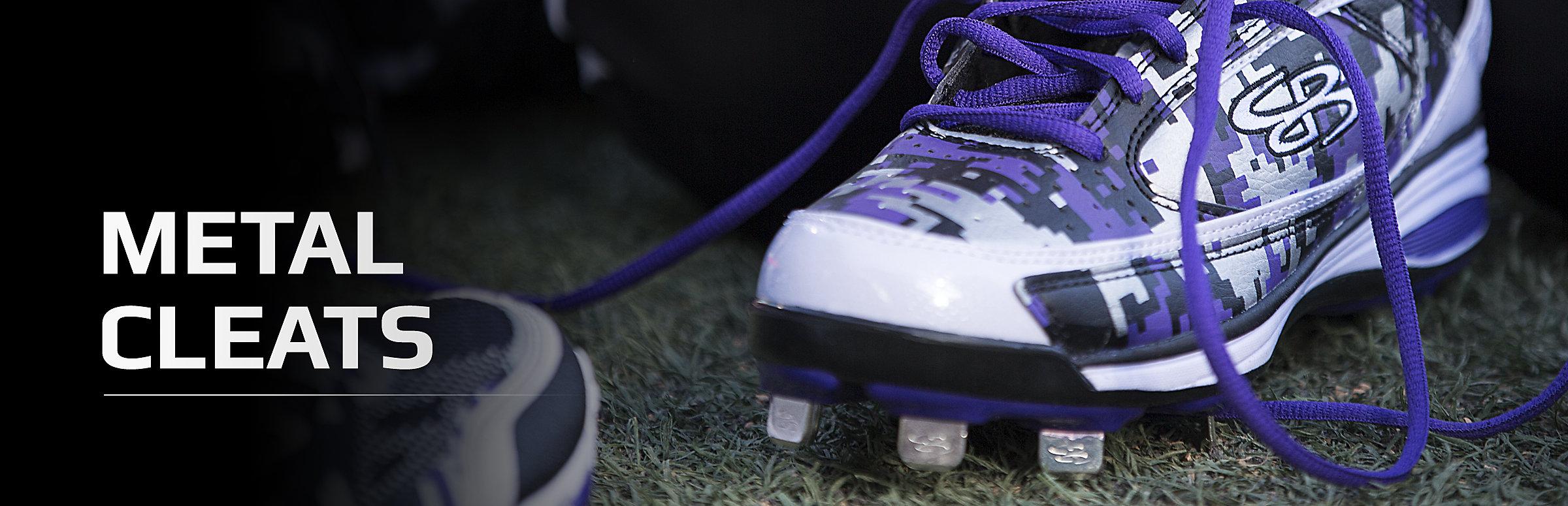 Baseball Shoes White