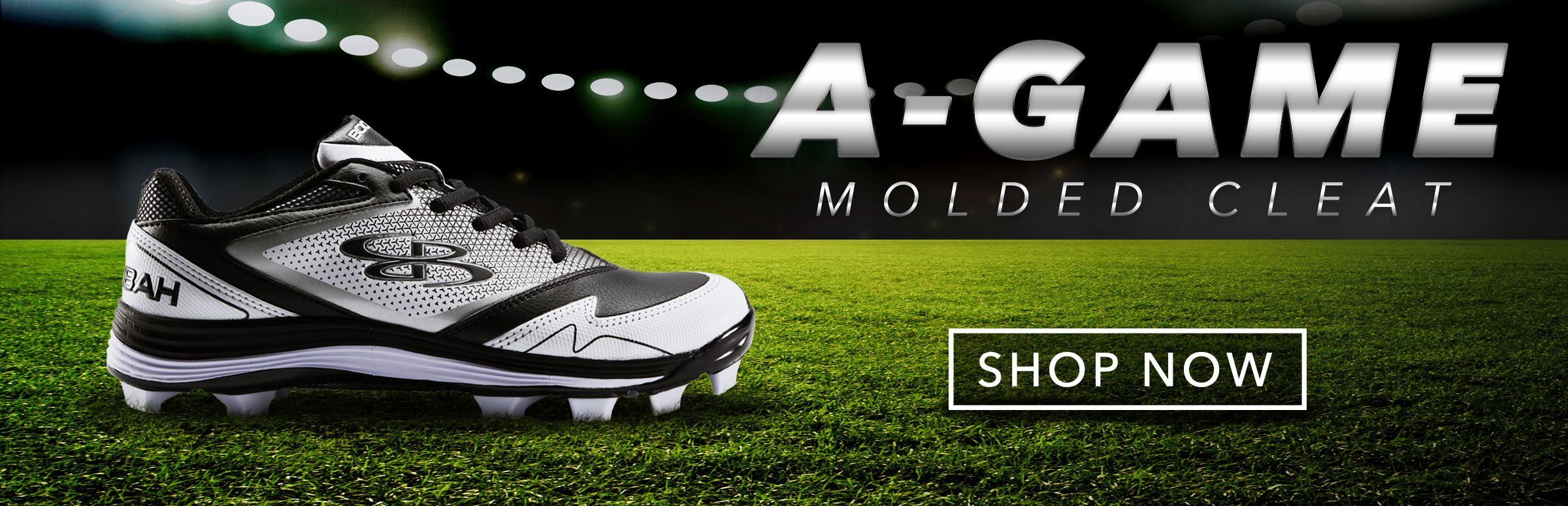 Boombah A-Game Molded Cleats