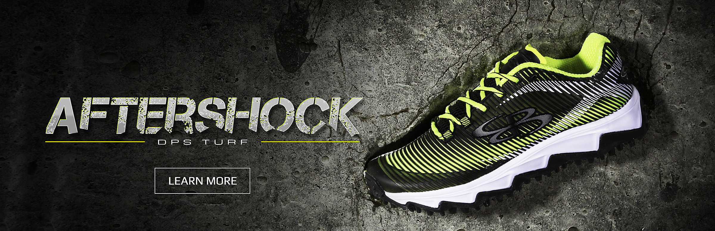 aftershock turf shoes