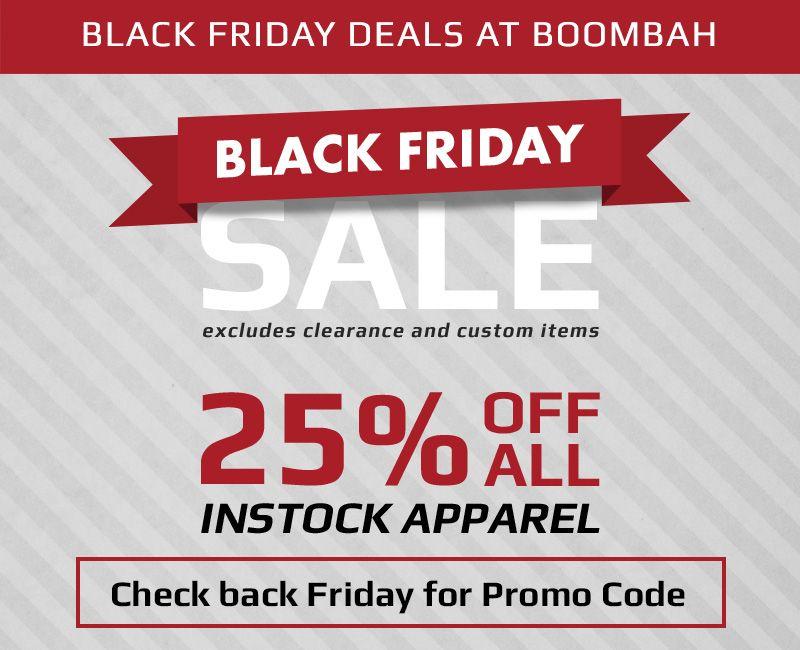 Black Friday Apparel Sale