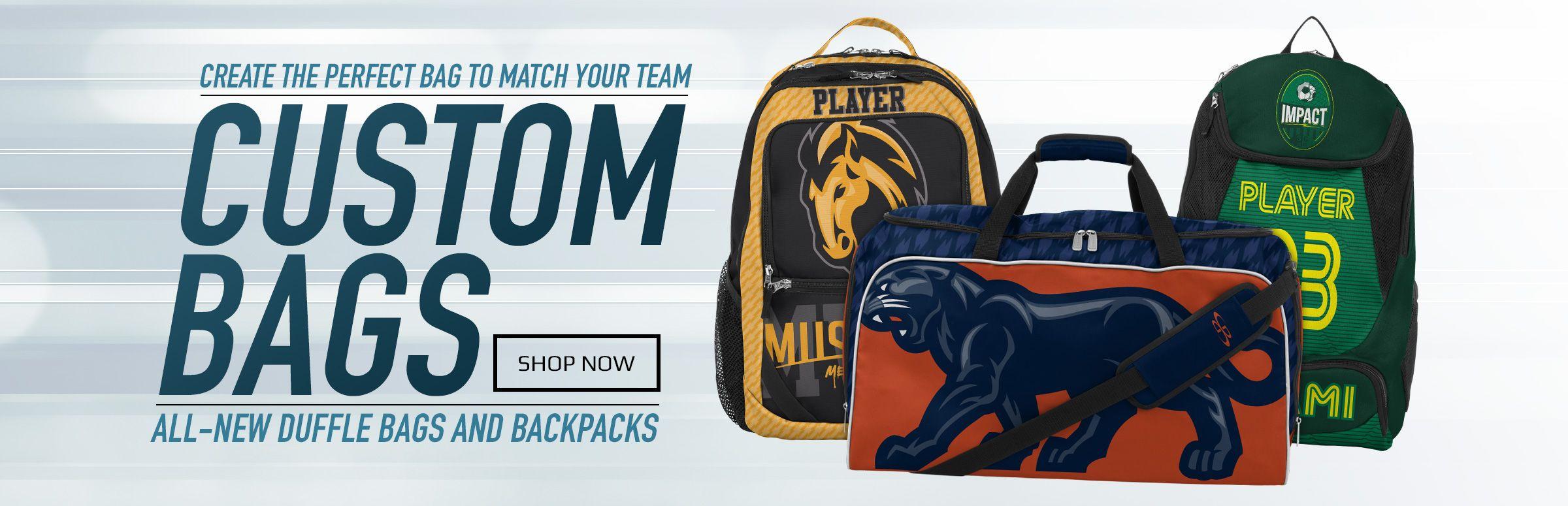 All-New Custom Bags