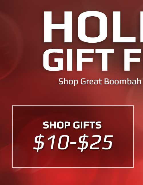 Boombah Gift Finder $10-$25