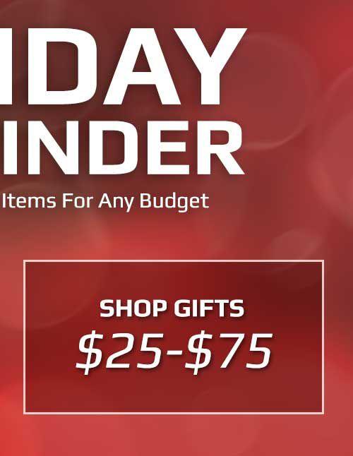 Boombah Gift Finder $25-$75