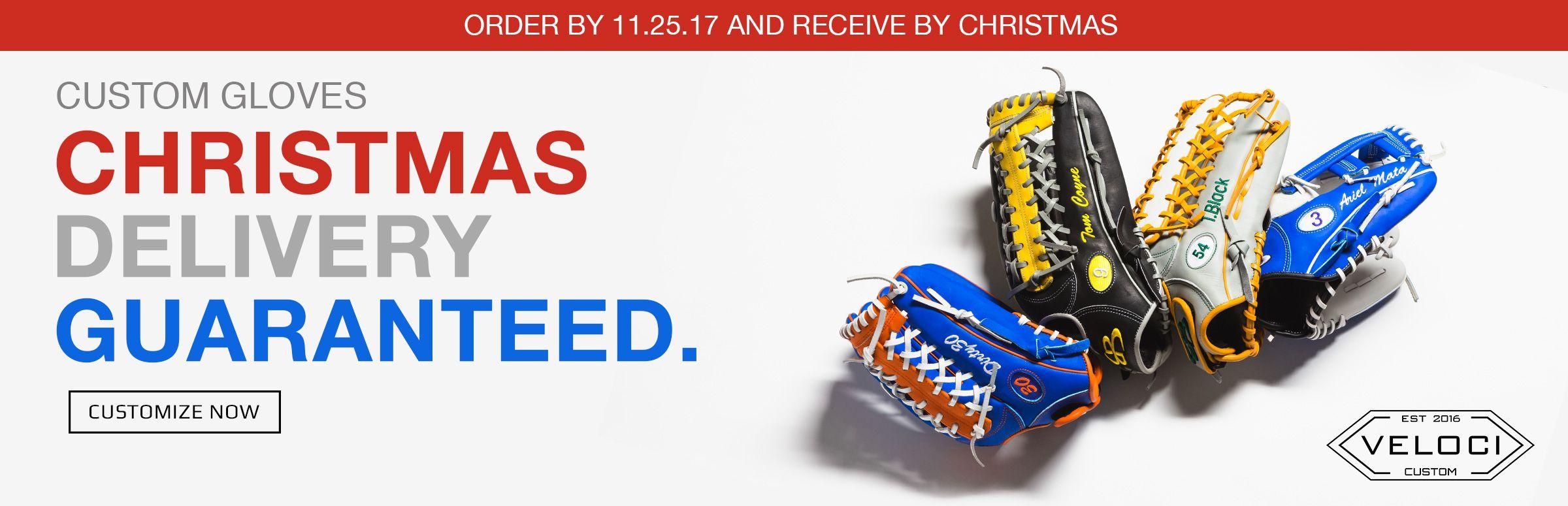 Custom Gloves By Christmas