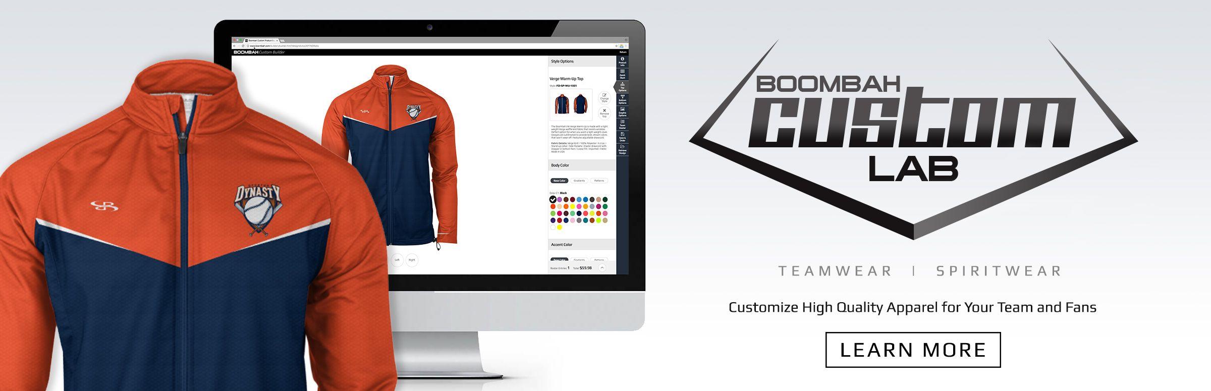 Boombah Custom Labs