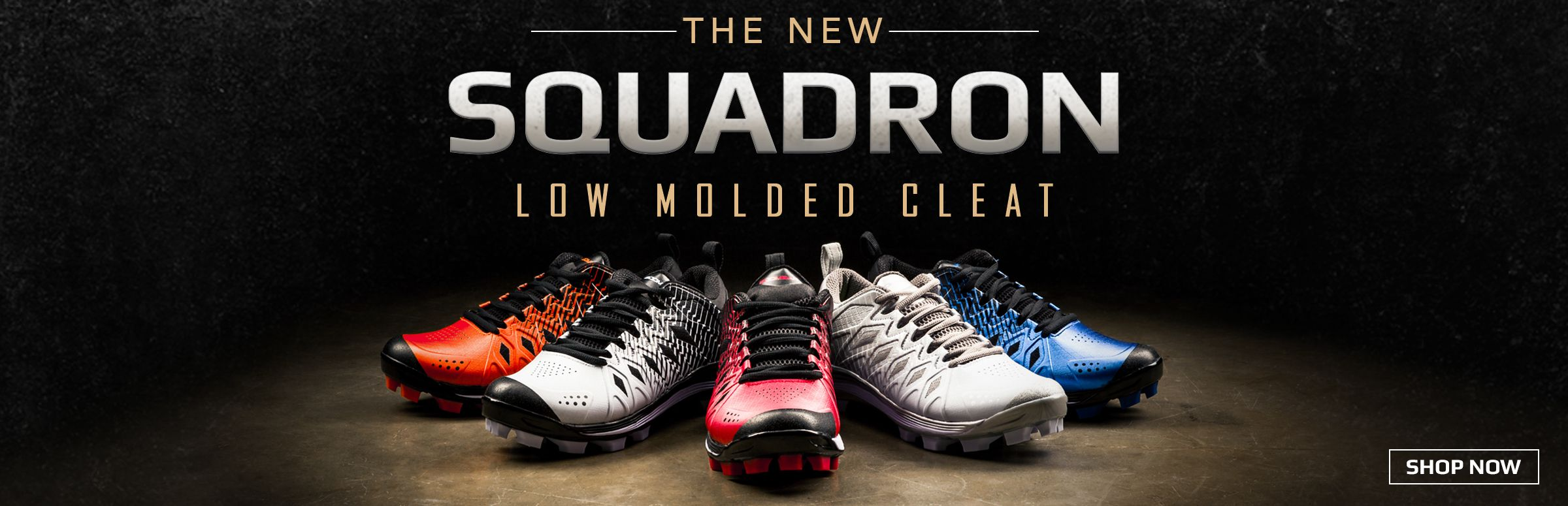 Boombah Squadron Low Molded Cleats