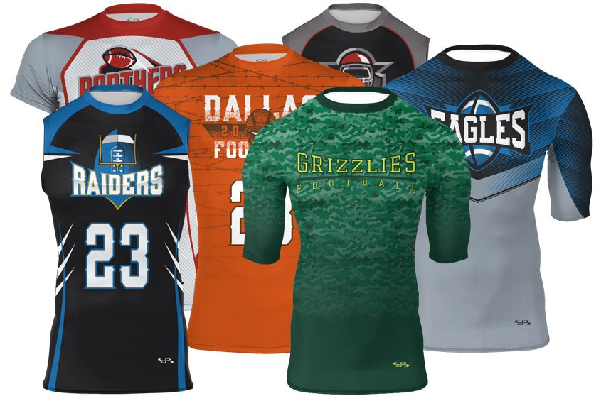 Custom 7 on 7 Jerseys