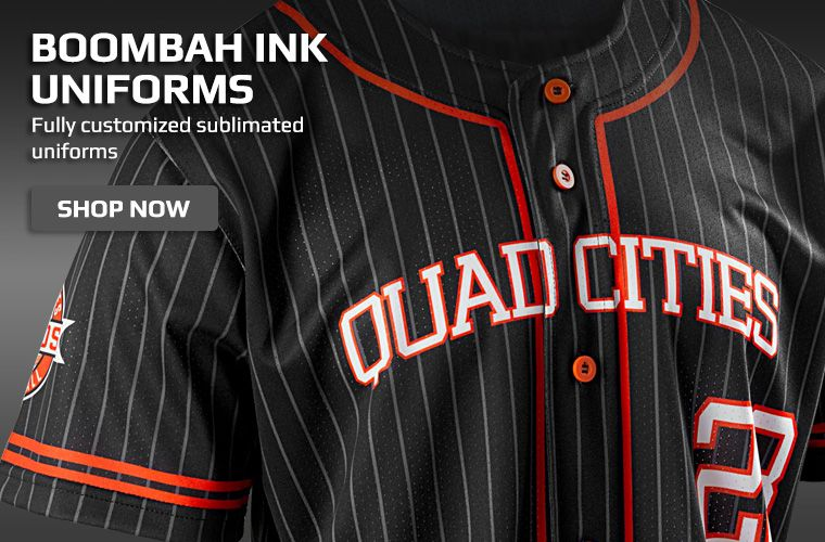 Boombah INK Baseball Uniforms