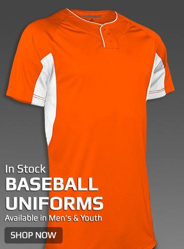 Boombah Instock Baseball Uniforms
