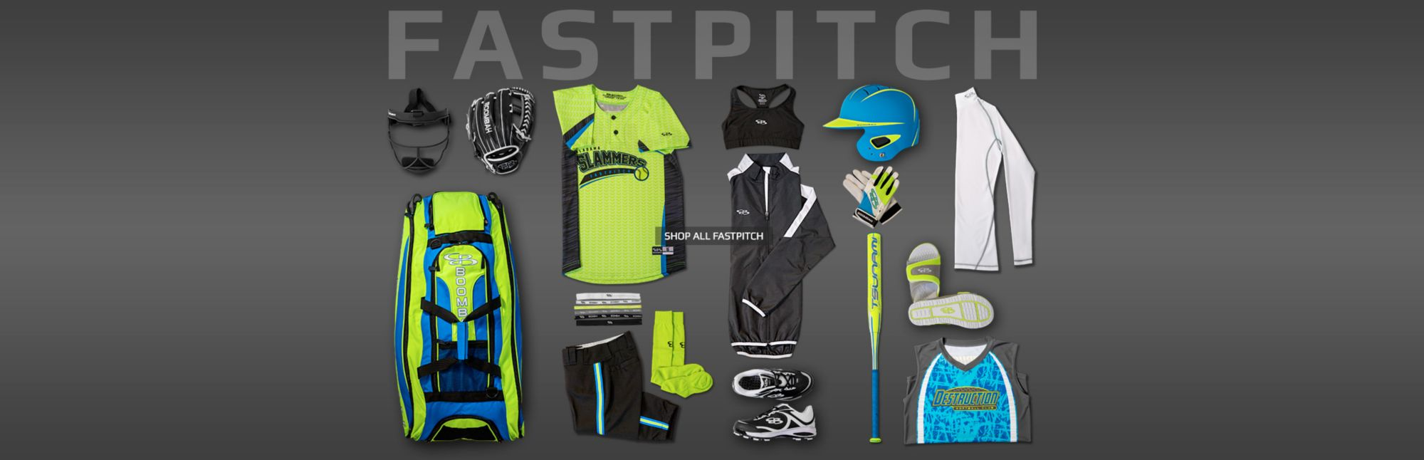 Shop all Boombah Fastpitch items