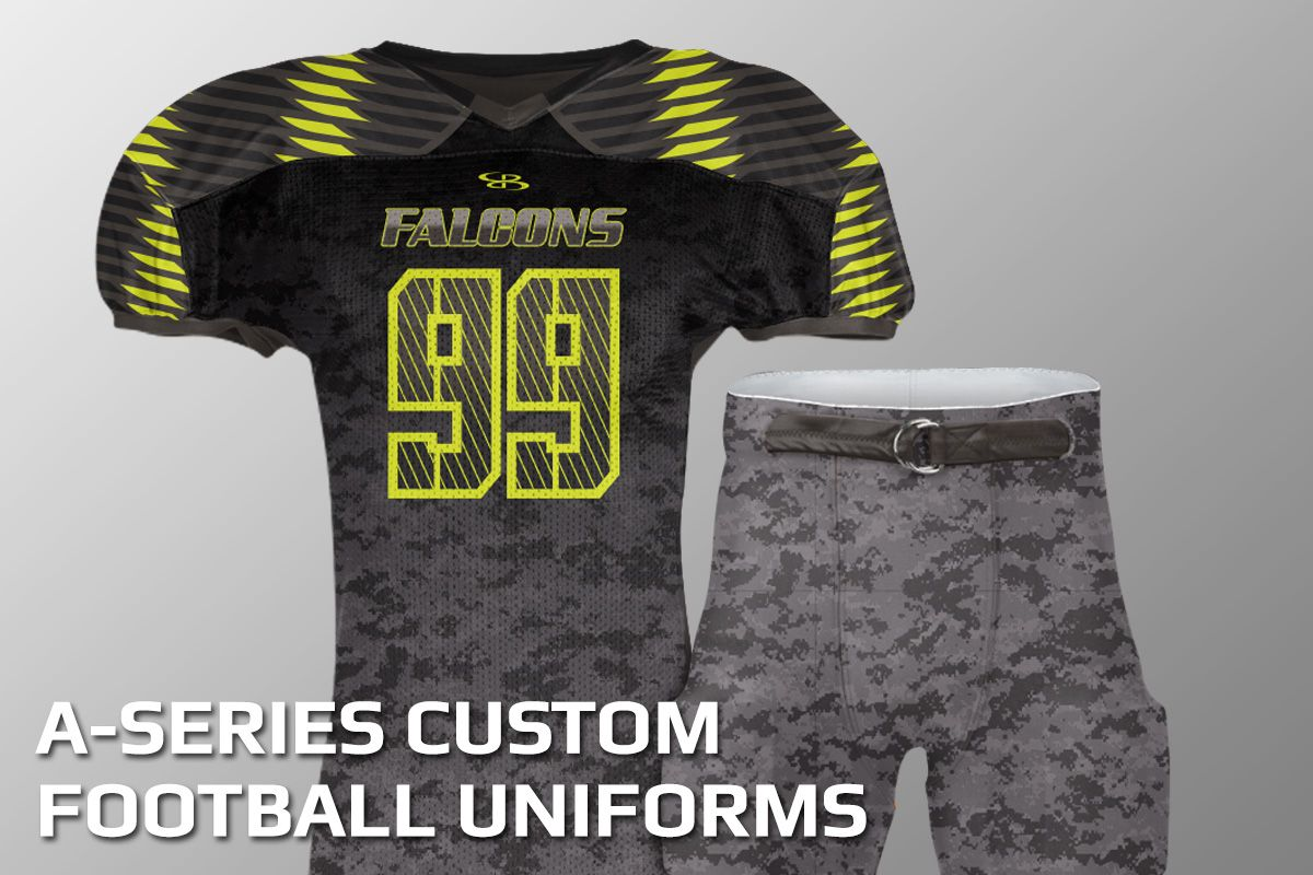 custom football jersey uniforms