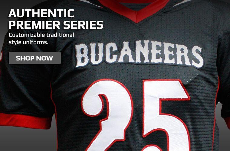 Authentic Premier Football Series Jerseys