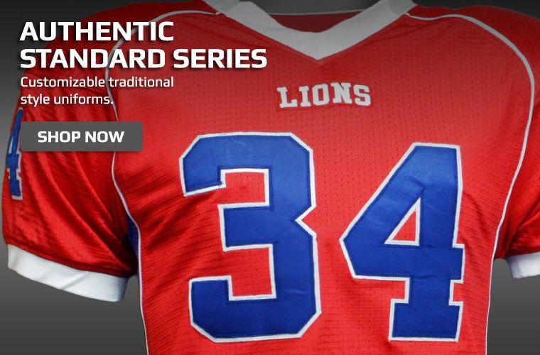 Authentic Standard Series Football Jerseys