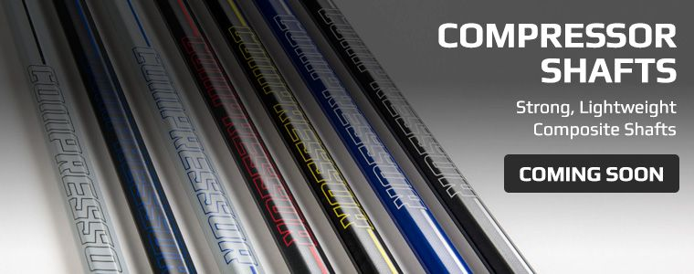 Boombah Compressor Lacrosse Shafts