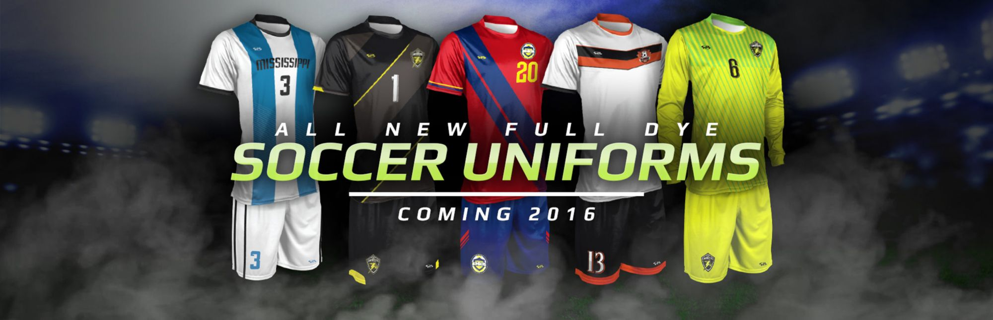 New Soccer Uniforms Coming Soon