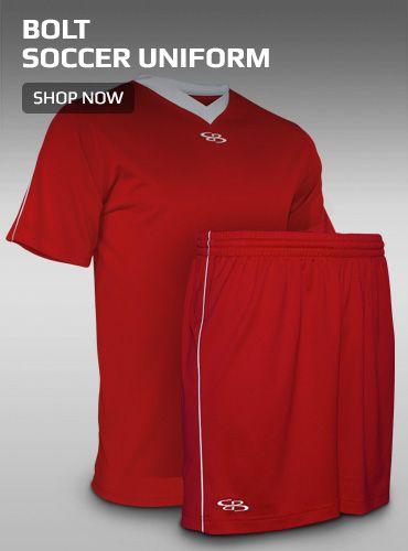 Boombah Bolt Soccer Uniform